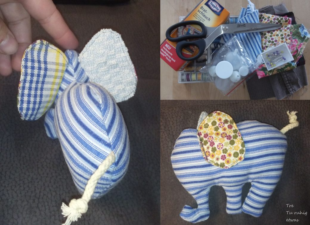 Nähanleitung für eine Elefantenrassel
