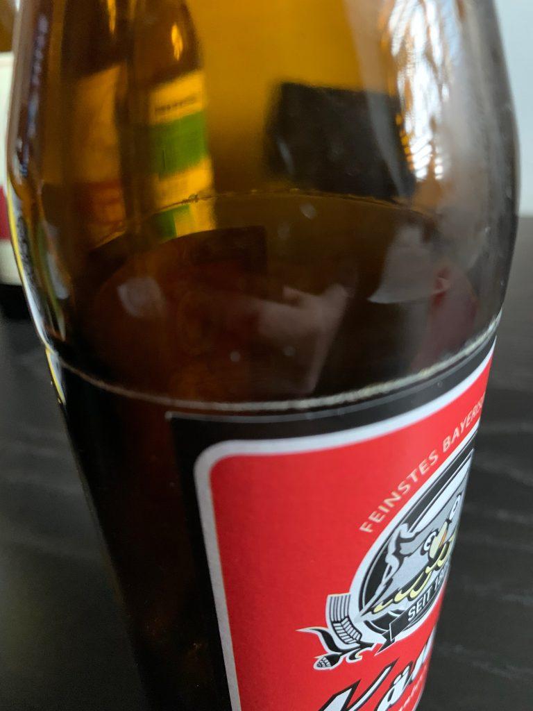 Angeritzte Käuzle Flasche