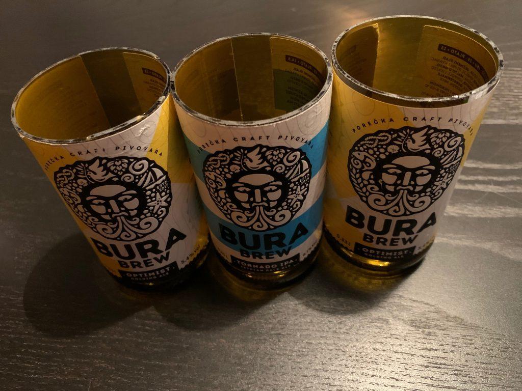 Bura Craft Beer Becher Trio
