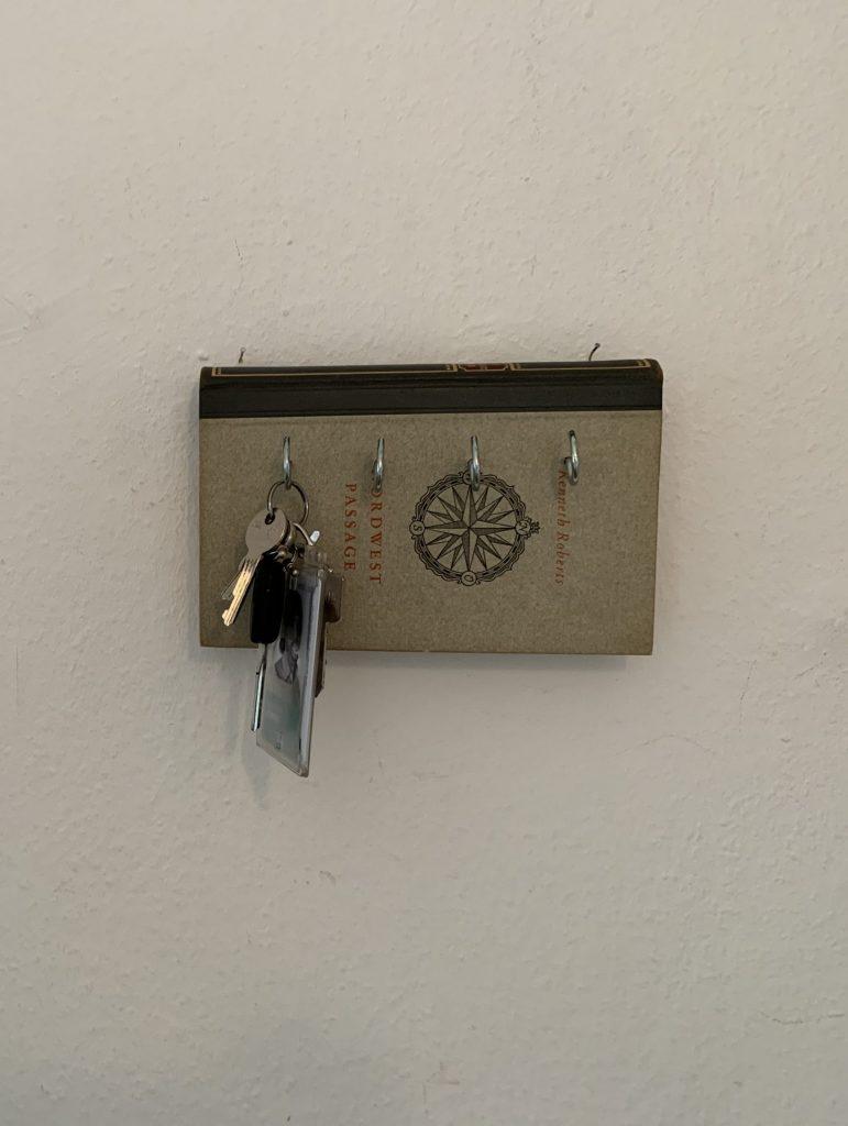 DIY Schlüsselbrett an der Wand