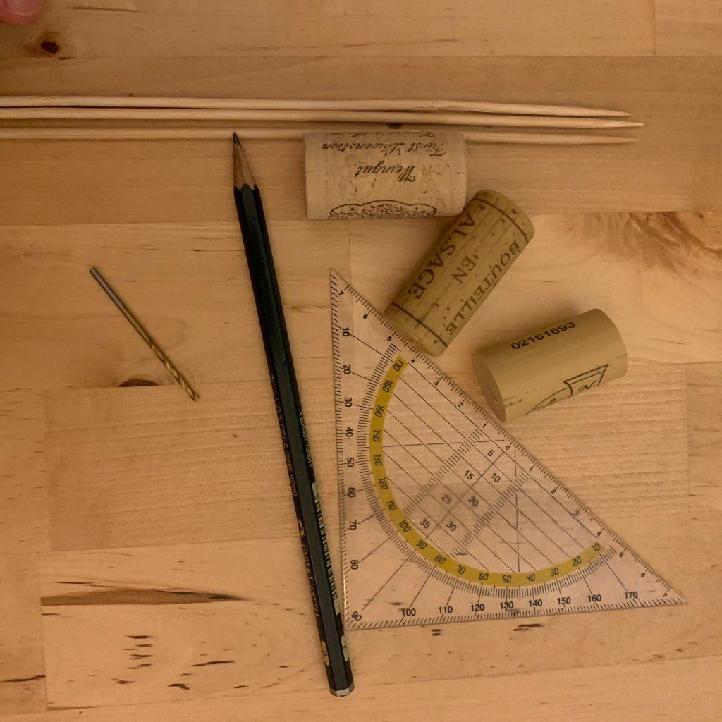 Material für kleines Korken DIY